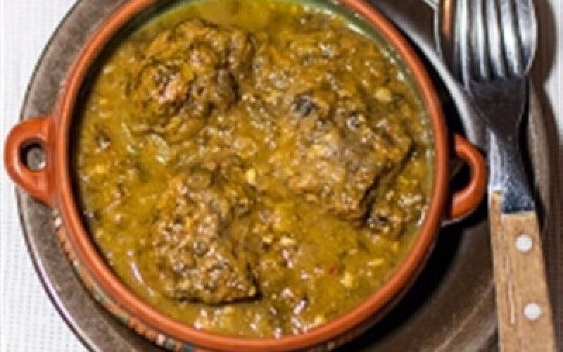 Горячее блюдо «Чакапули»