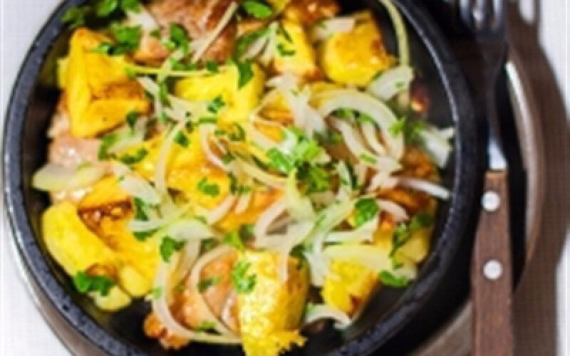 Горячее блюдо «Оджахури»