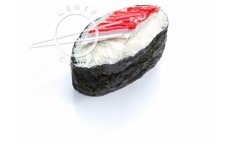 Сырный гункан с крабом