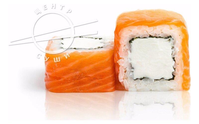Ролл с лососем «Нежный лосось»
