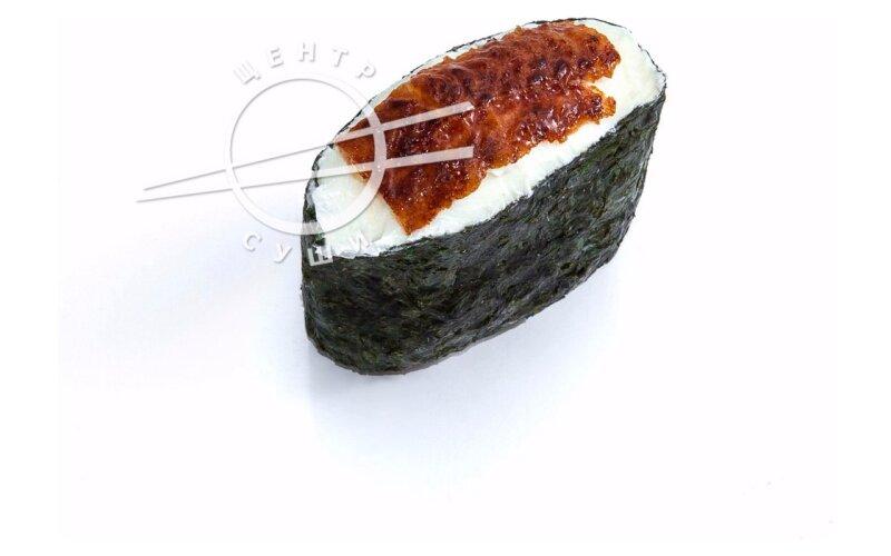 Сырный гункан с угрём