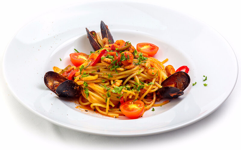 Спагетти «Фрутти ди Маре»