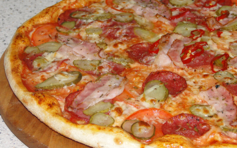 Пицца «Сицилийская» острая