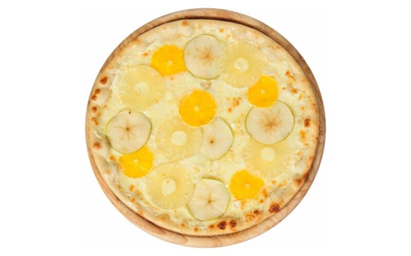 Пицца фруктовая с сыром