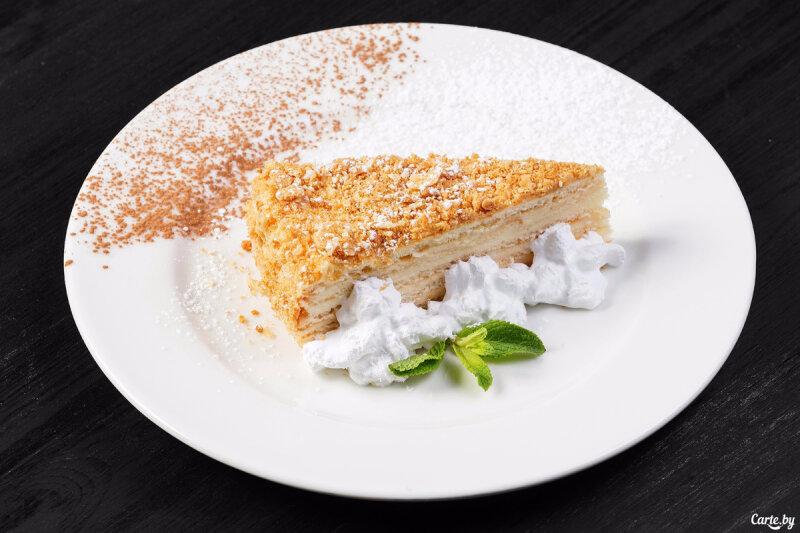 Торт «Творожный Наполеон»