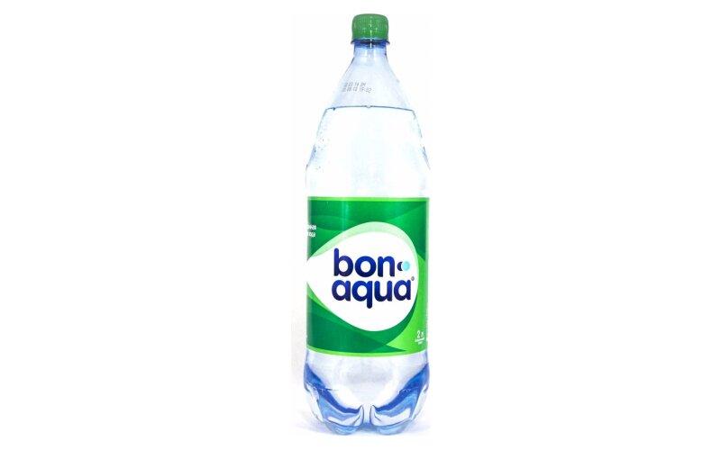 Вода BonAqua среднегазированная