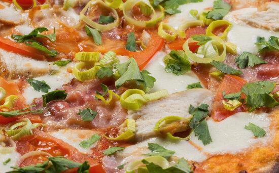 Пицца «Венеция» на пышномтесте