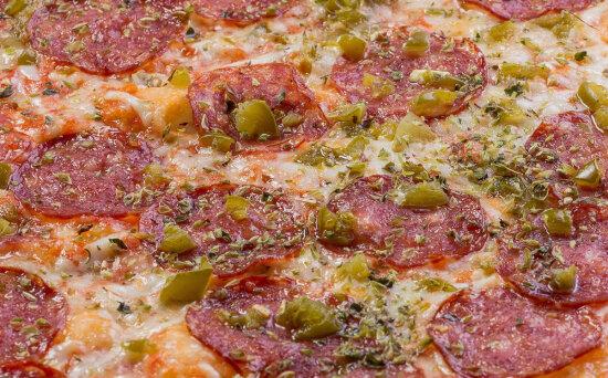 Пицца «Дьябло» острая на пышномтесте