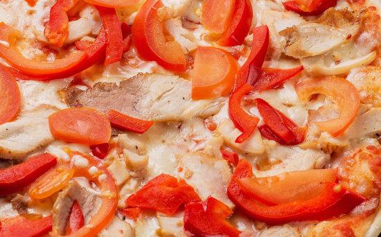 Пицца «Оскар» на пышномтесте