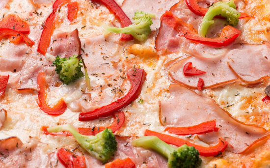 Пицца «Севилья» на пышномтесте