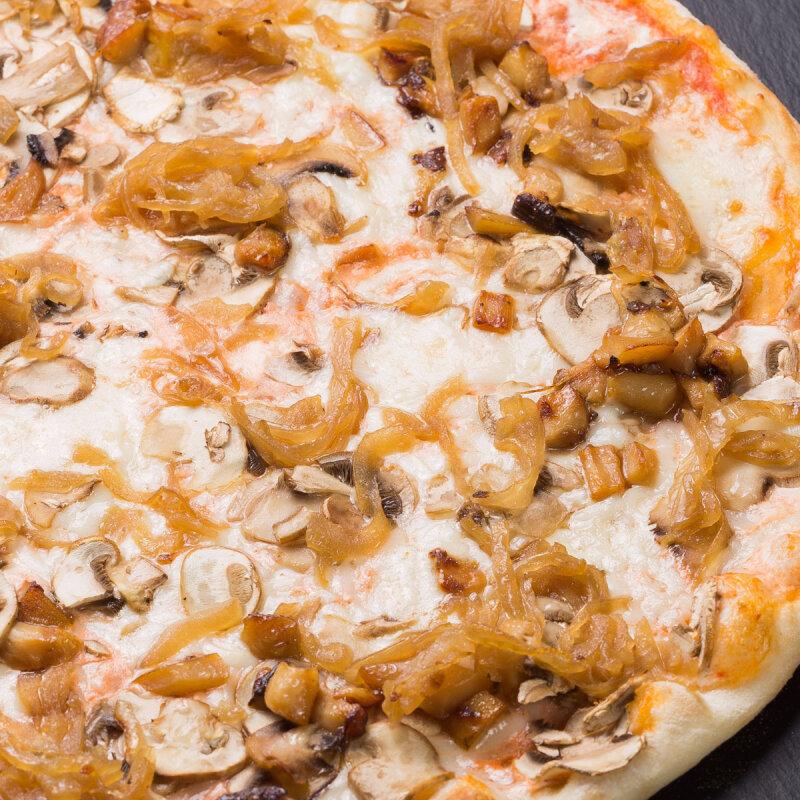 Пицца «Таёжная» на пышномтесте