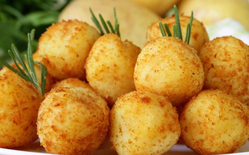 Шарики картофельные