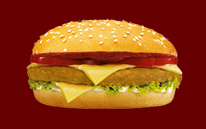 Бургер «Чикен дабл чиз»