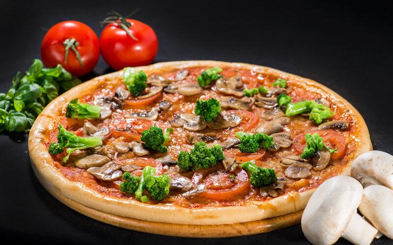 Пицца на толстом тесте «Фитнес»