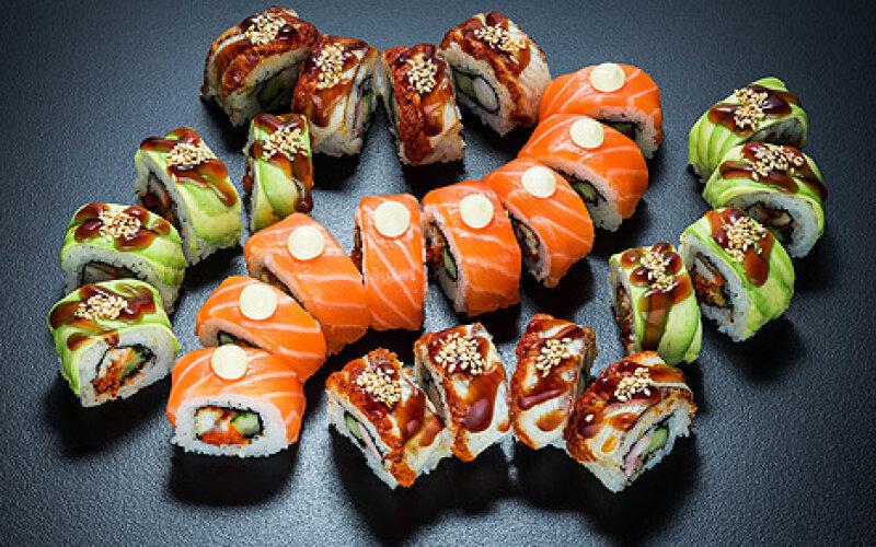 Суши-сет «Унаги микс»