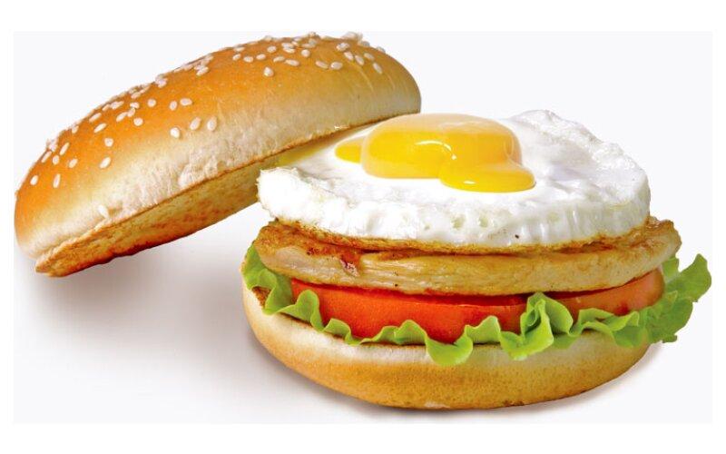 Шеф-бургер с яйцом