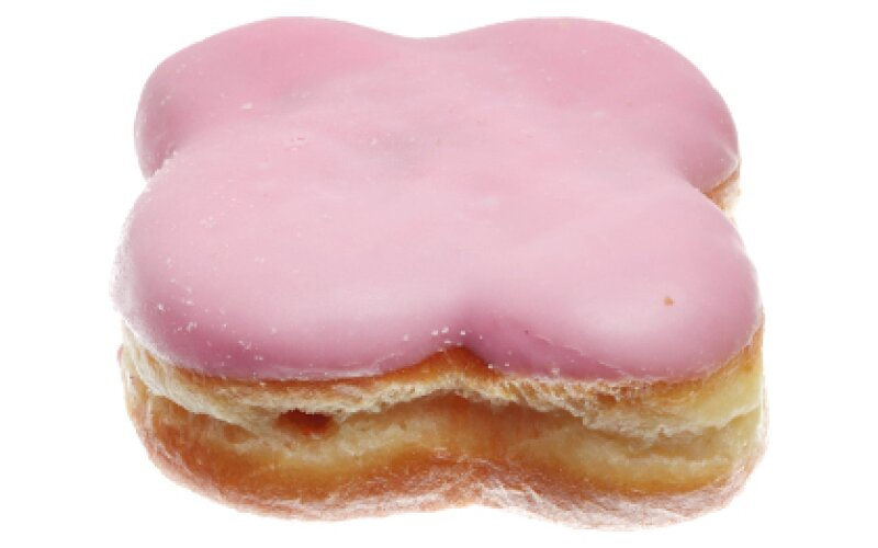 Пончик с начинкой со вкусом клубники