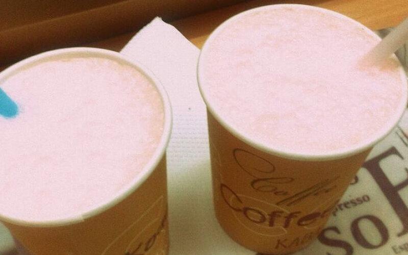 Молочный коктейль «Клубничный»