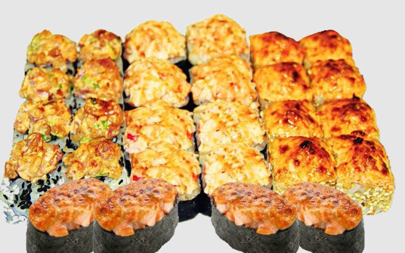 Суши-сет «Спайси» запечённый