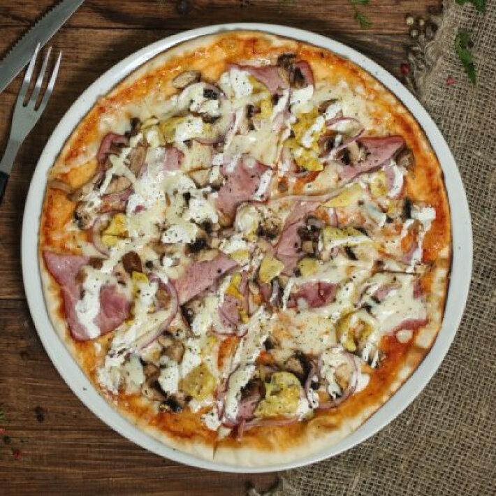 Пицца «Чикен с грибами»