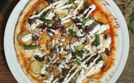 Пицца «Кон карне»