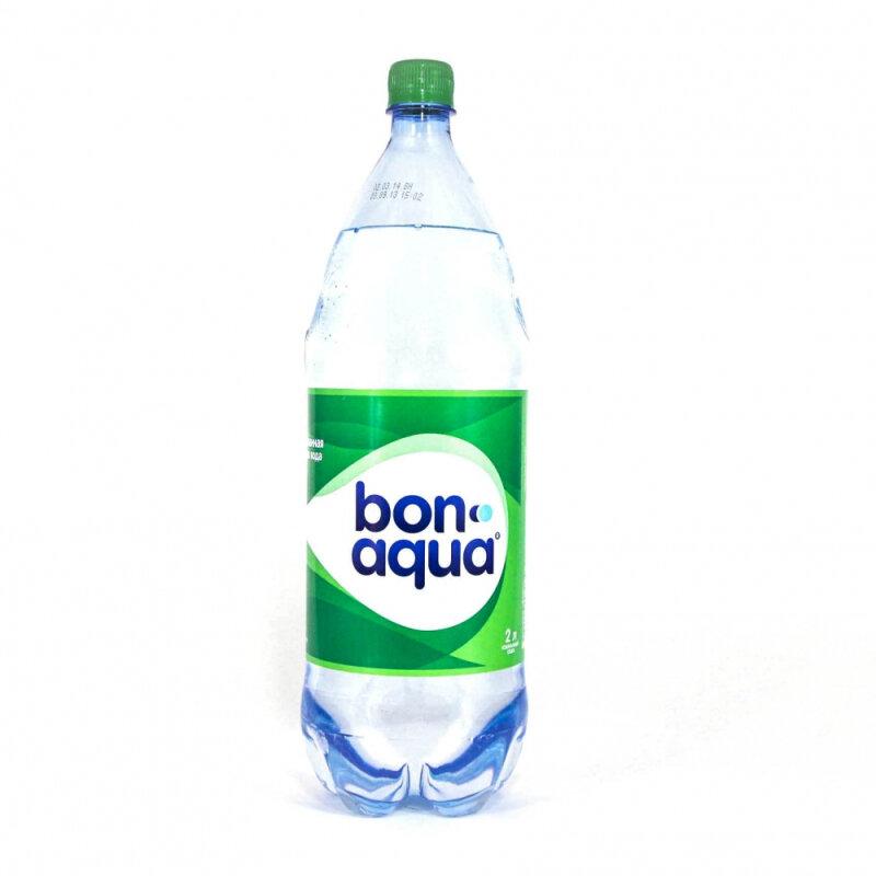 Питьевая вода BonAqua среднегазированная