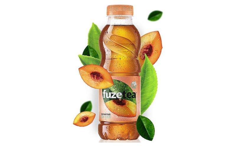 Чайный напиток FuzeTea со вкусом персика