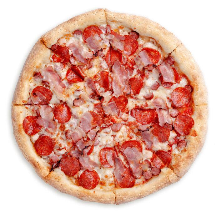 Пицца «Мега мясная»