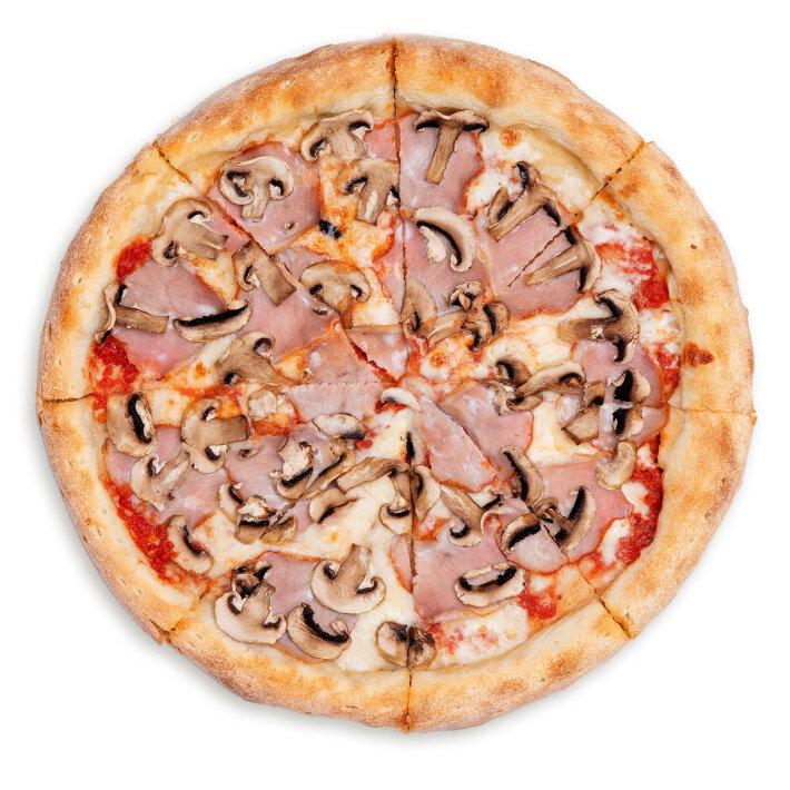 Пицца «Грибы и ветчина»