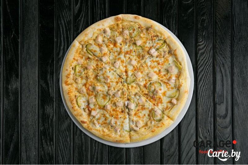 Пицца «Жюльен» с грибами