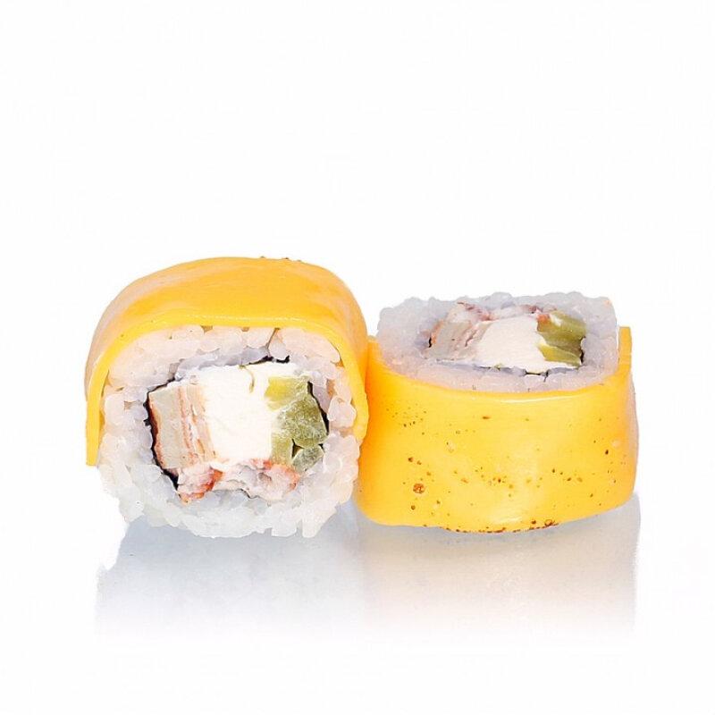 Ролл с угрём и сыром «Чеддер»