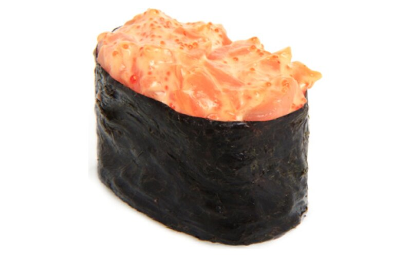 Гункан «Острый лосось»