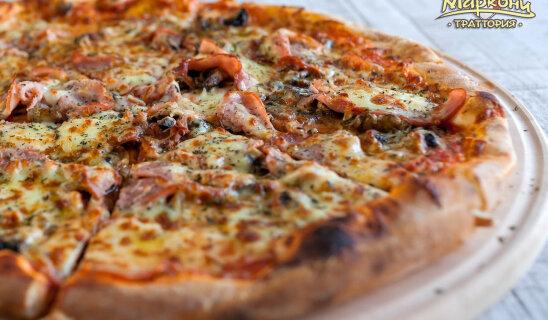 Пицца «Ветчина & грибы»
