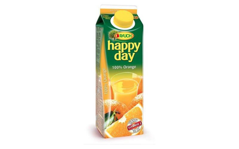 Сок Happy Day апельсиновый