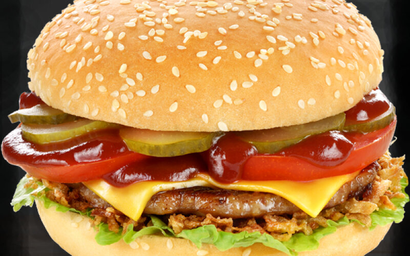 Брестбургер с куриной котлетой