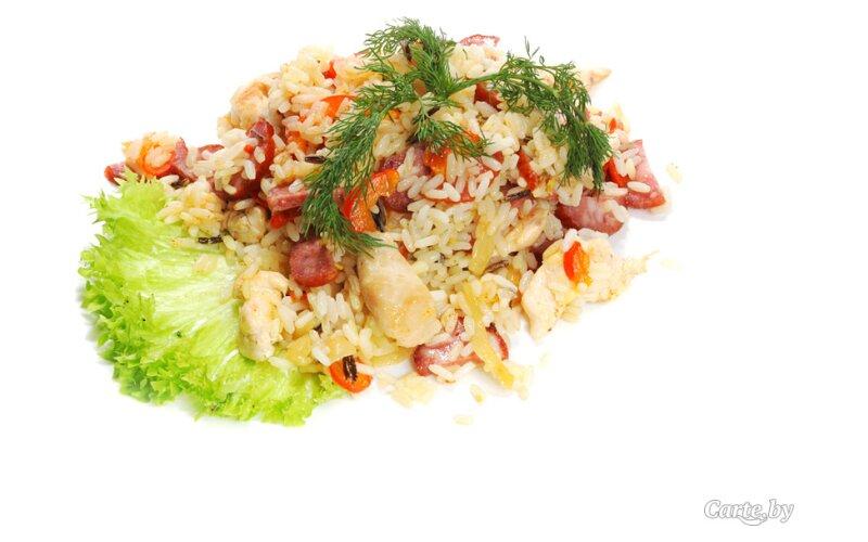 Джамбалайя с диким рисом
