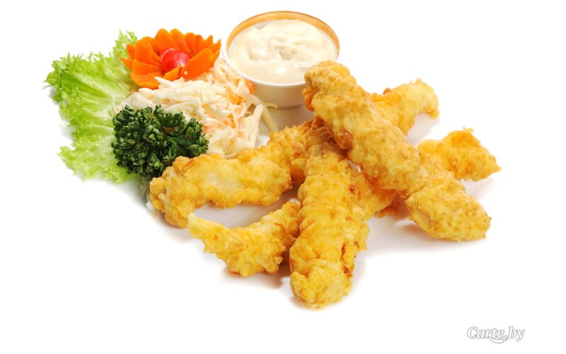 Закуска «Куриные пальчики»