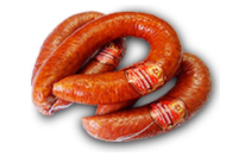 Колбаса варёно-копчёная