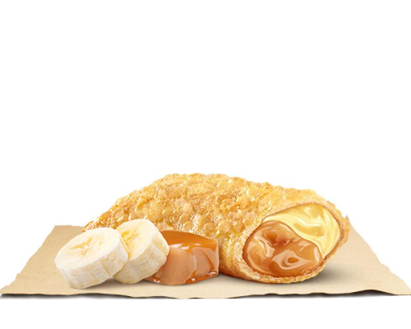 Пирожок «Банан-карамель»