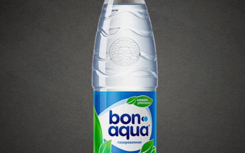 Вода BonAqua сильногазированная