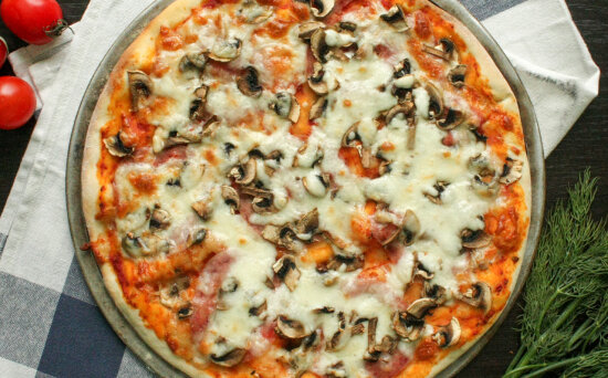 Пицца «Прошутто фунги»