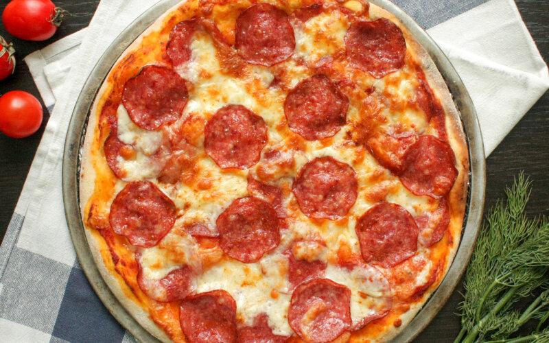 Пицца «Дабл пеперони»