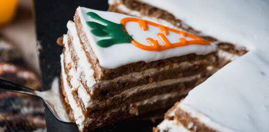 Десерт «Морковный тортик»