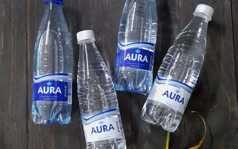 Вода минеральная «Аура» газированная