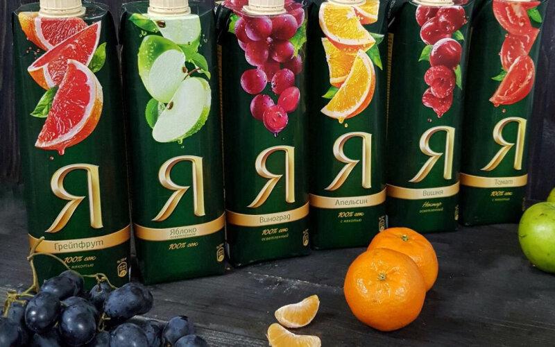 Сок «Я» виноградный