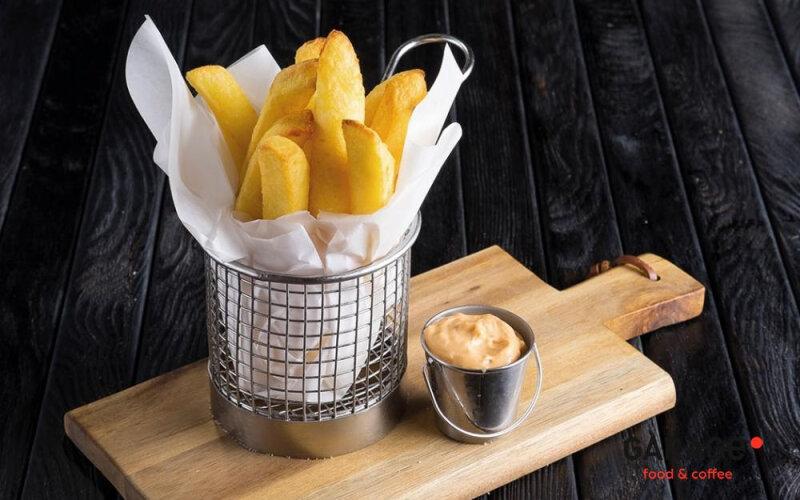 Бельгийский картофель с соусом «Бургер»