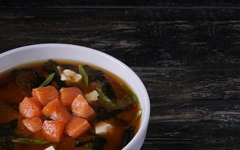 Суп «Мисо сяке»