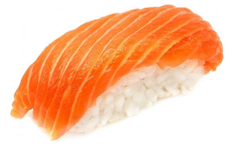 Нигири «Сяке» с лососем