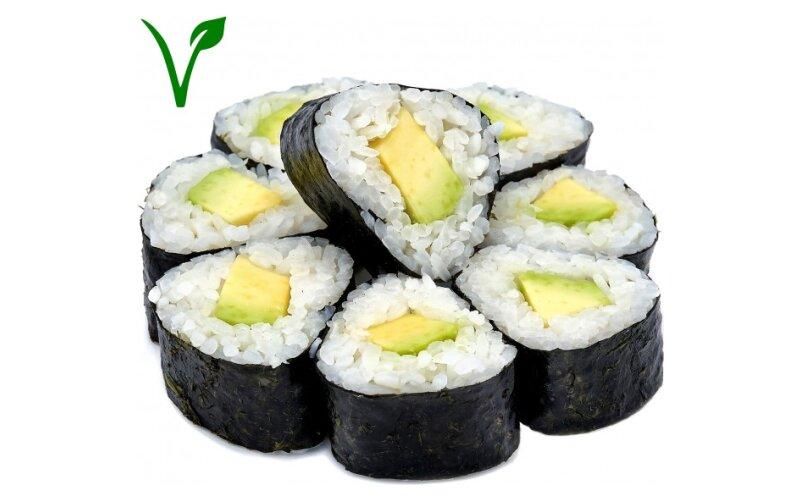 Ролл «Хосомаки» с авокадо