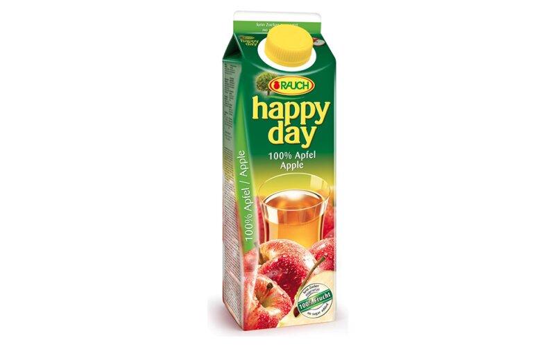 Сок Happy Day яблочный